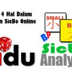 Hindari 4 Hal Dalam Permainan SicBo Online